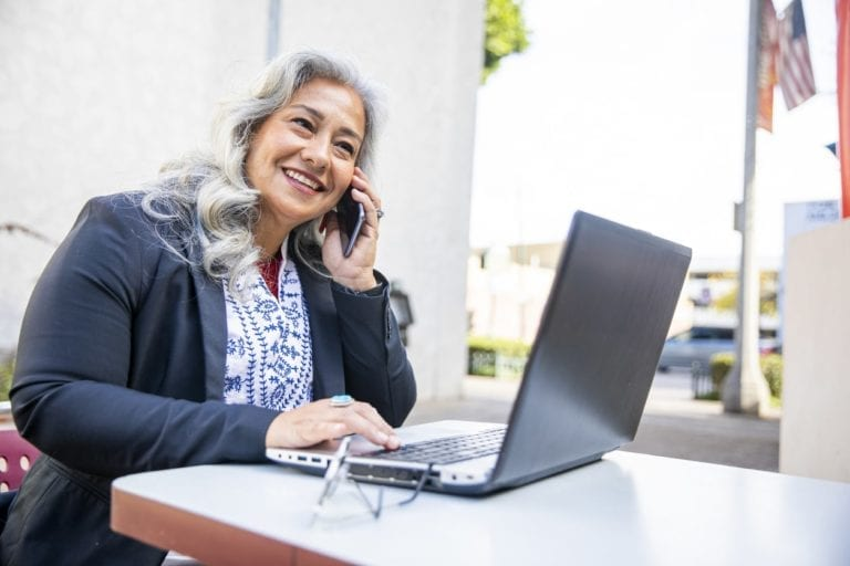 Phone system for employment professionals