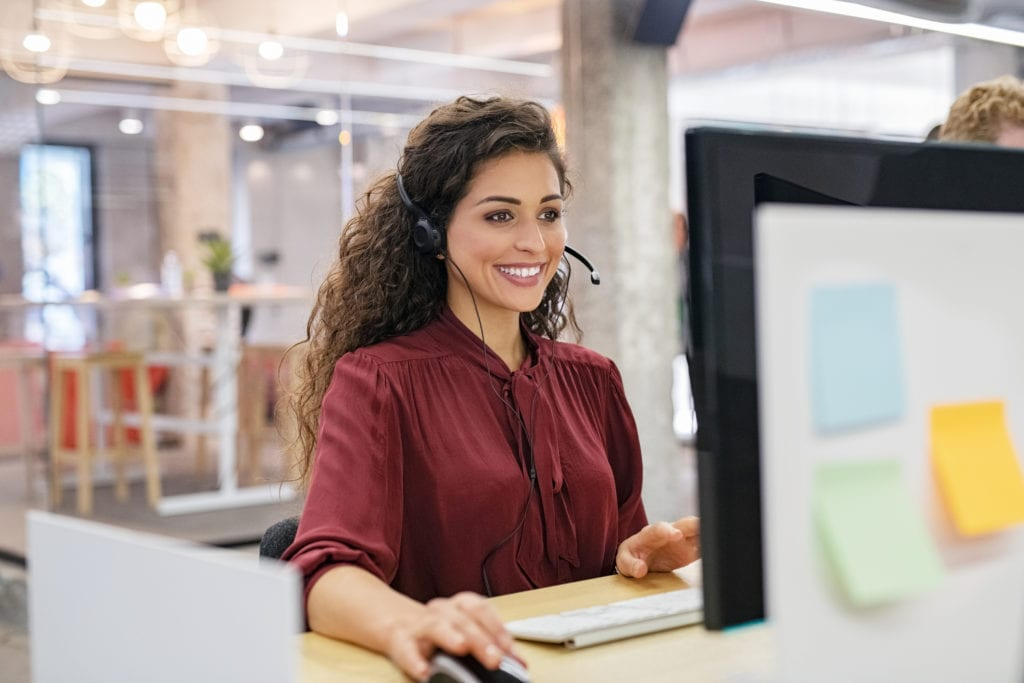 Receptionist service for small business